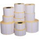 Roll of 2500 40x18 mm thermal adhesive labels -1 row / core 40