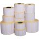 Rollo de 500 etiquetas adhesivas termicas mm 100x100 1 Pista núcleo 40