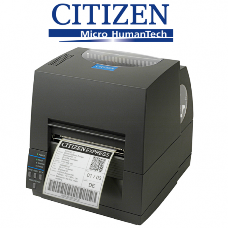 Citizen CL621 printer for thermal labels and barcodes zebra