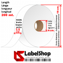 H35 satin tape for textile labels