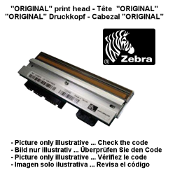 ZEBRA HEAD- PRINTER SPARE PART