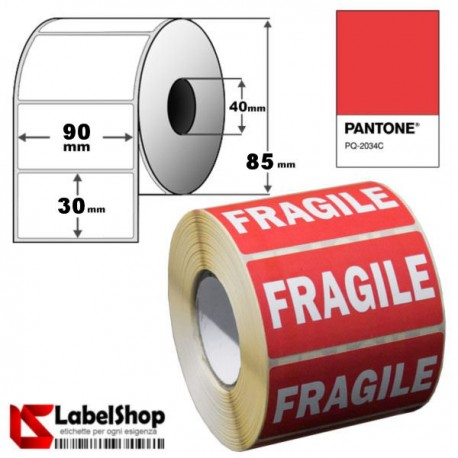 pre-printed adhesive labels-special offer