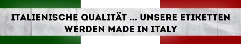 Italienische Qualität - italienisches Produkt