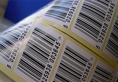 Barcode-Etiketten