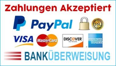 Zahlungen werden akzeptiert